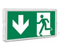 EXIT Эвакуационный указатель аварийного освещения жилых домов