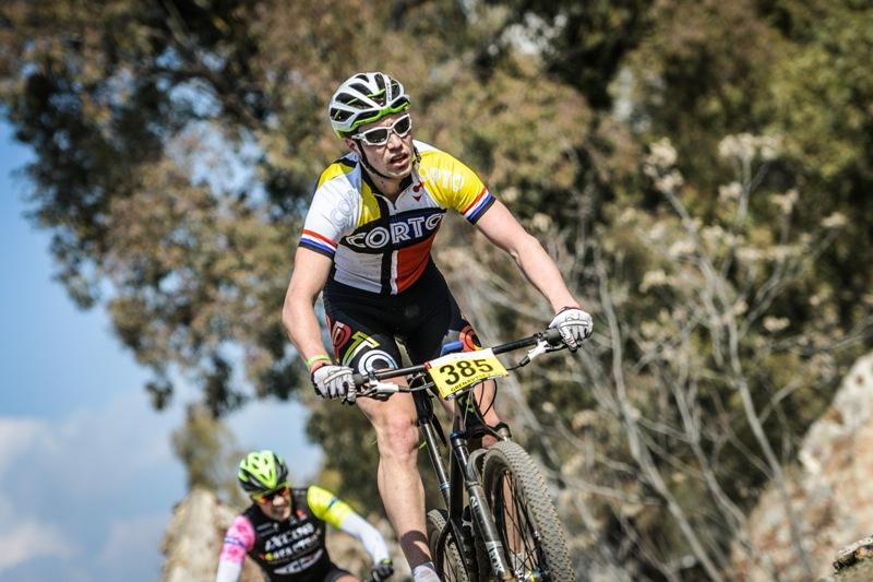 Иван Гренавцев на Andalucia Bike Race