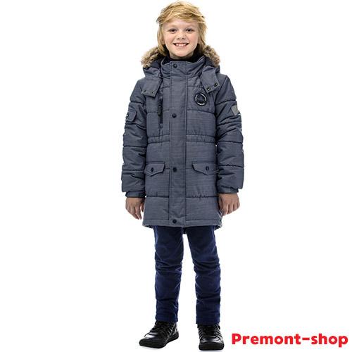 Парка Premont Атлантический Буревстник с ЭКОпухом купить в интернет-магазине Premont-shop