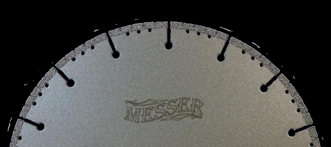 Алмазный диск по металлу MESSER F/M для болгарки