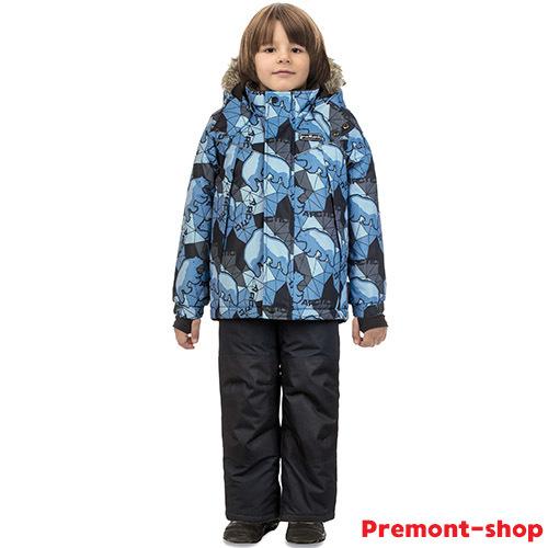 Комплекты Premont для мальчиков Зима 2018-2019 - размерная сетка