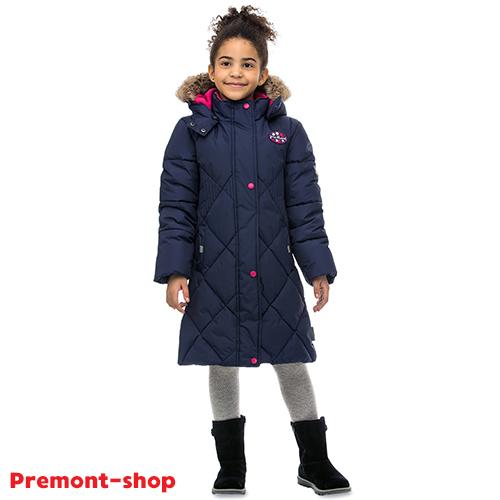 Пальто Premont для девочек зима 2018-2019 - размерная сетка