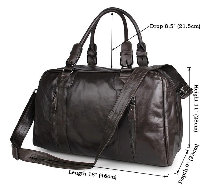 Размеры сумки JMD 7190