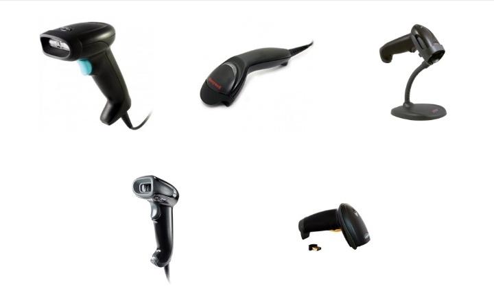Разновидности сканеров штрихкодов