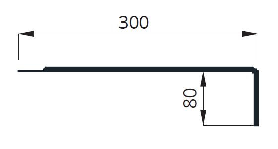 Размеры на кронштейн для светильника
