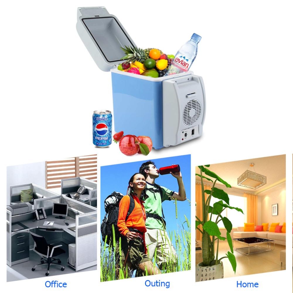 Холодильник автомобильный Portable Electronic Cooling & Warming Refrigerators - 7.5 л – мини автохолодильник