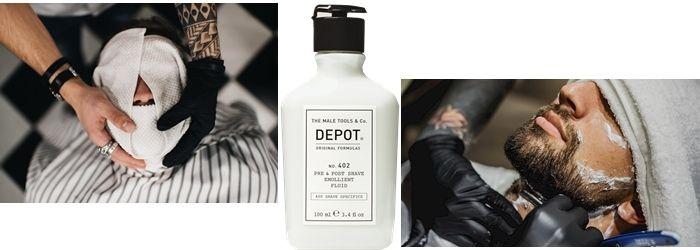 depot 407 лосьон