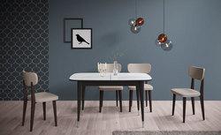 Деревянный стул Kenner 113М венге/серый