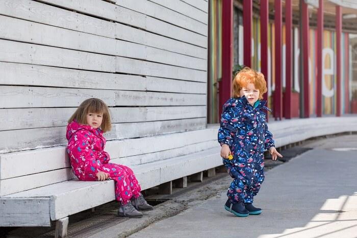 Комбинезон Premont Весна Маленький Нуттала S18103 для девочек