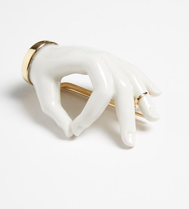 оригинальная брошь ручной работы от ANDRES GALLARDO - Hand Pin