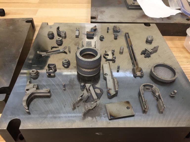 Печать гранатомета 3д