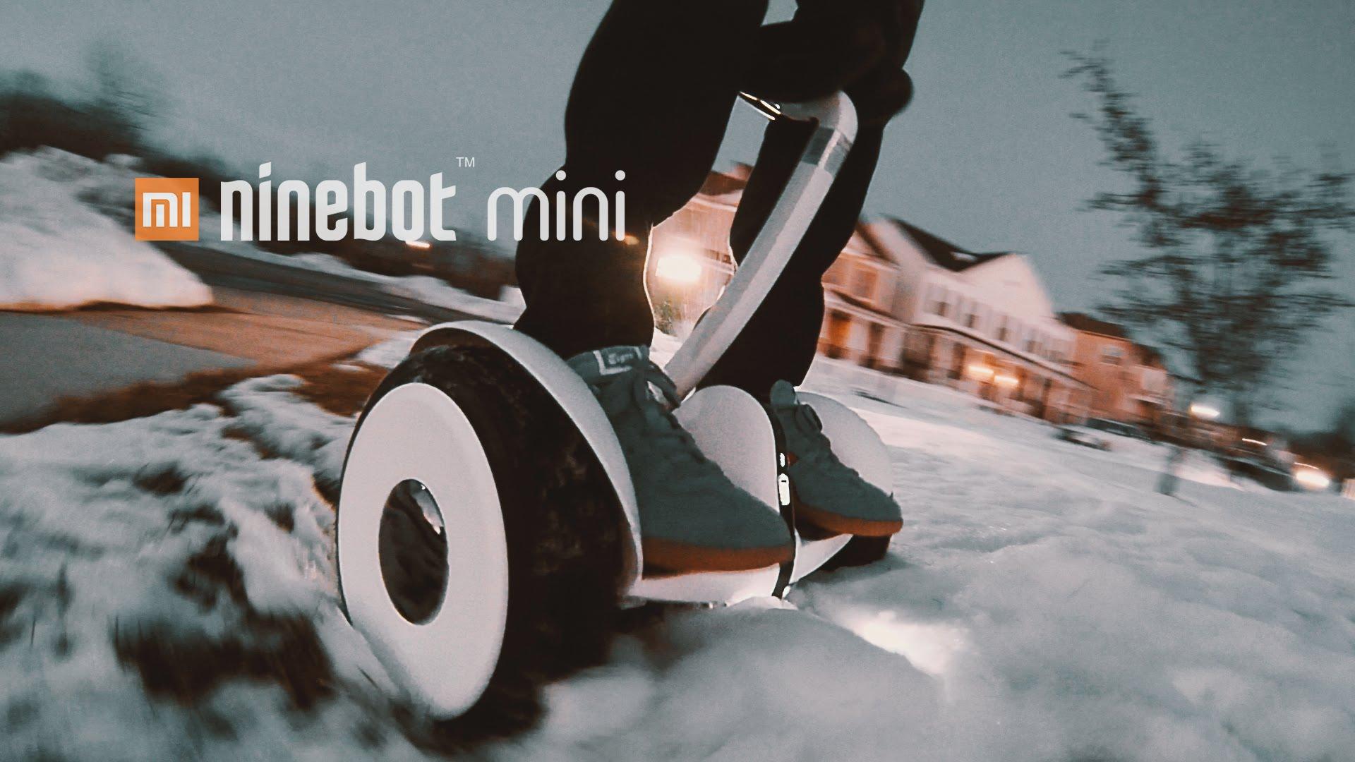 Xiaomi ninebot mini - отличный выбор гироскутера