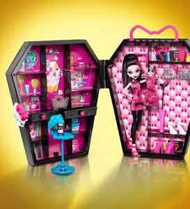 Шкафчик Дракулауры - Драулокер, игровой набор Monster High