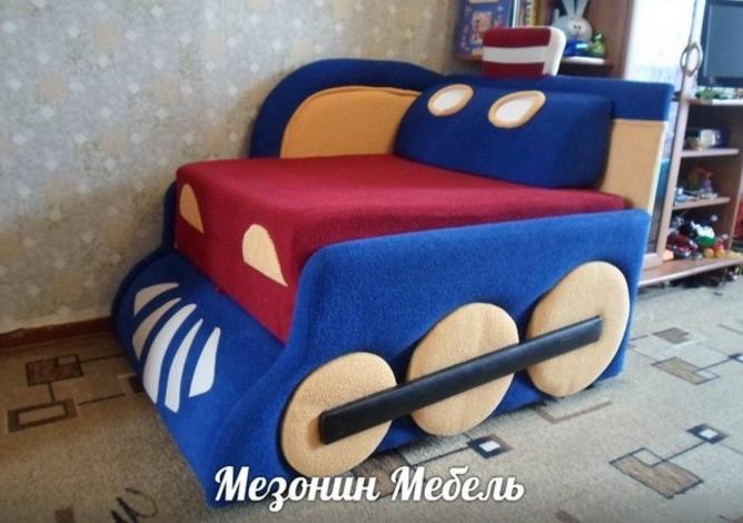 детский диван малогабаритный снупи