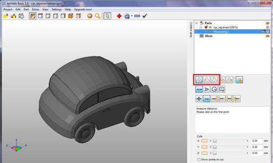Разработка 3d моделей в netfabb