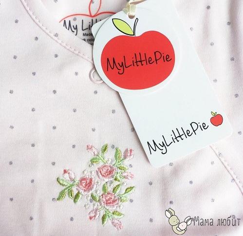Комбинезон для девочек Mylittlepie Цветочек с доставкой в интернет-магазине Мама Любит!
