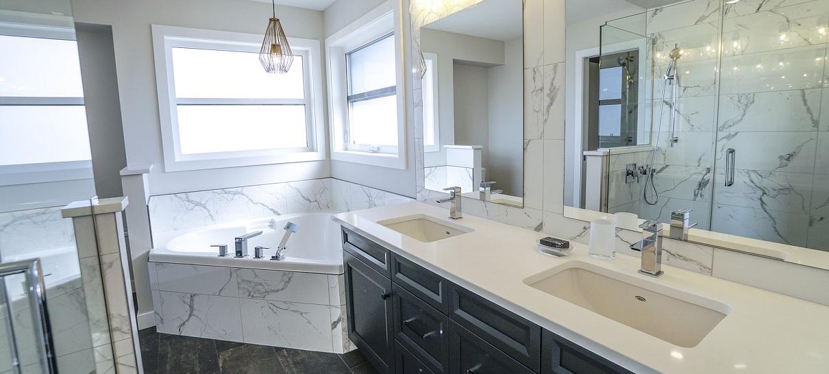 Современный дизайн ванной идеи
