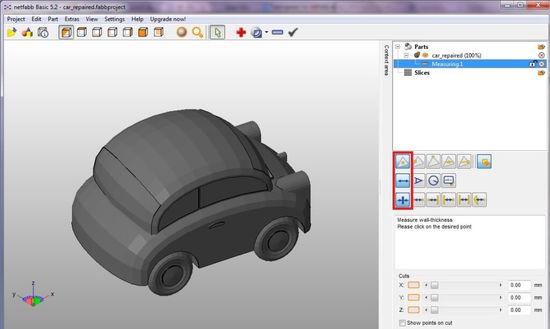 3D моделирование изделий в netfabb Basic