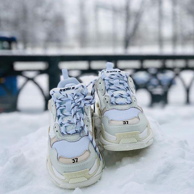 Баленсиага зимой