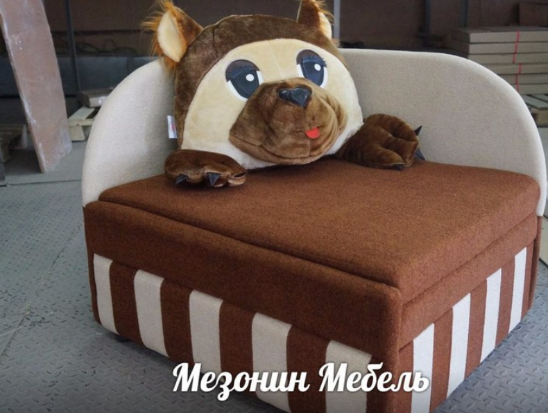 малогабаритный диван для детей