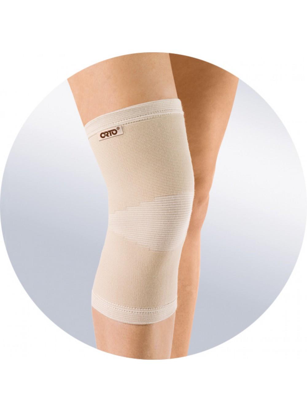 Закрепление колена эластичным поясом