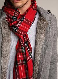как правильно завязывать мужские шарфы. Европейский узел