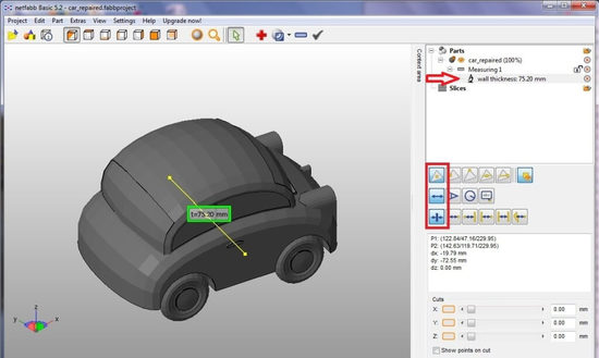 Правила измерения 3D моделей