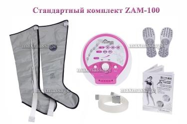 Стандартная комплектация массажера Zam-100