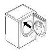 шильдик стиральной машины