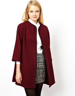 Купить пальто-трапецию