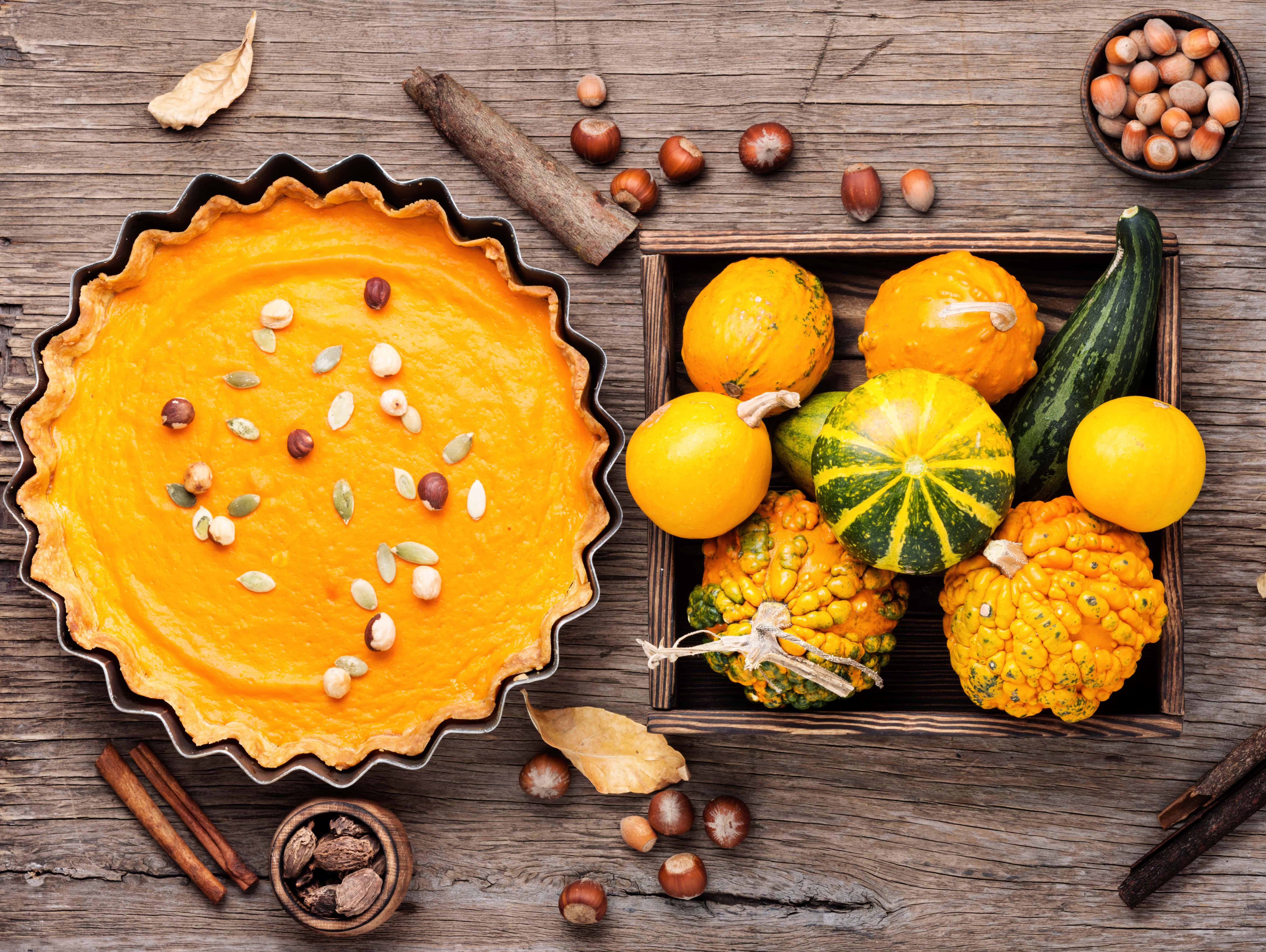Первый рецепт тыквенного пирога