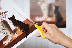 Как сделать папертоль — Шаг 2 — Вырежьте второй слой с деталями из следующего листа.