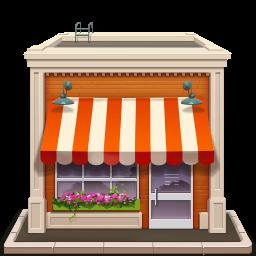 Магазин в центре Санкт-Петербурга