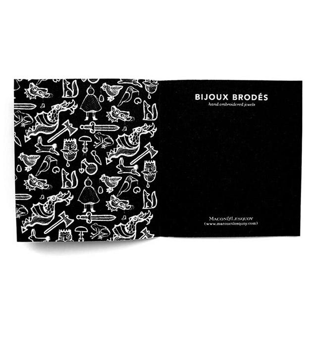 купите стильное украшение в форме дракона от Macon&Lesquoy - Dragon brooch