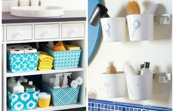 Как хранить вещи в ванной