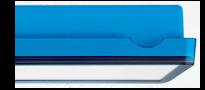 Светильники эвакуационного освещения – голубой цвет