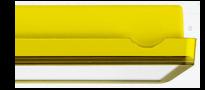 Светильники эвакуационного освещения – желтый цвет