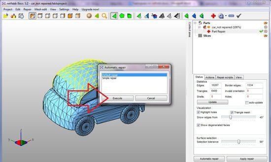 Как исправить 3D модель