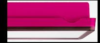 Светильники эвакуационного освещения – розовый цвет