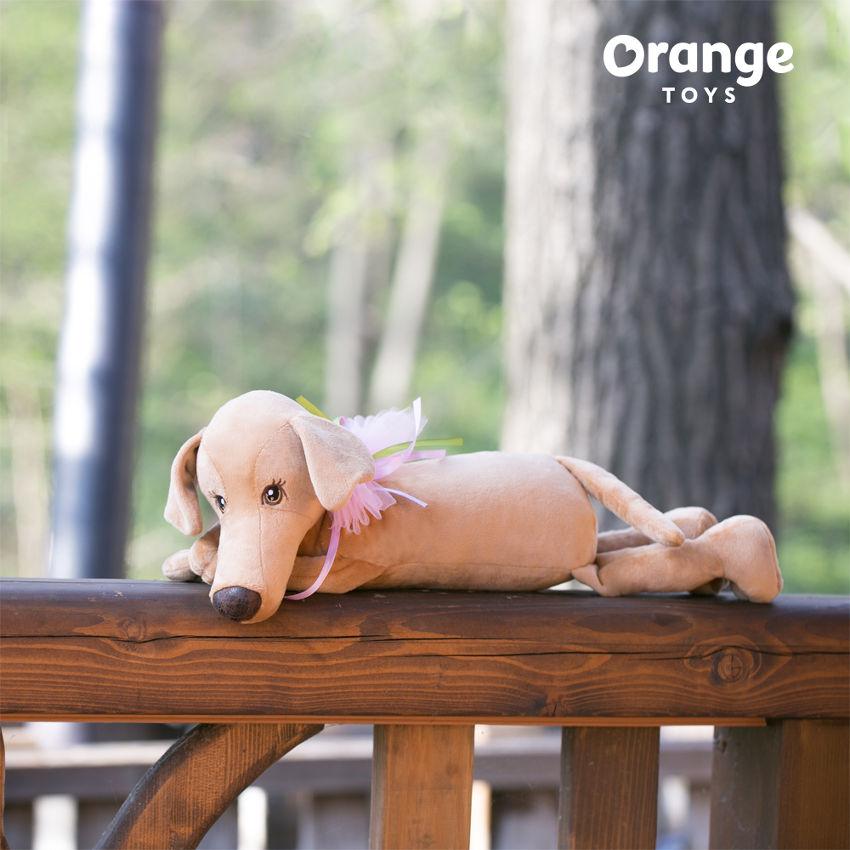 Собака Миа подушка, Orange Toys