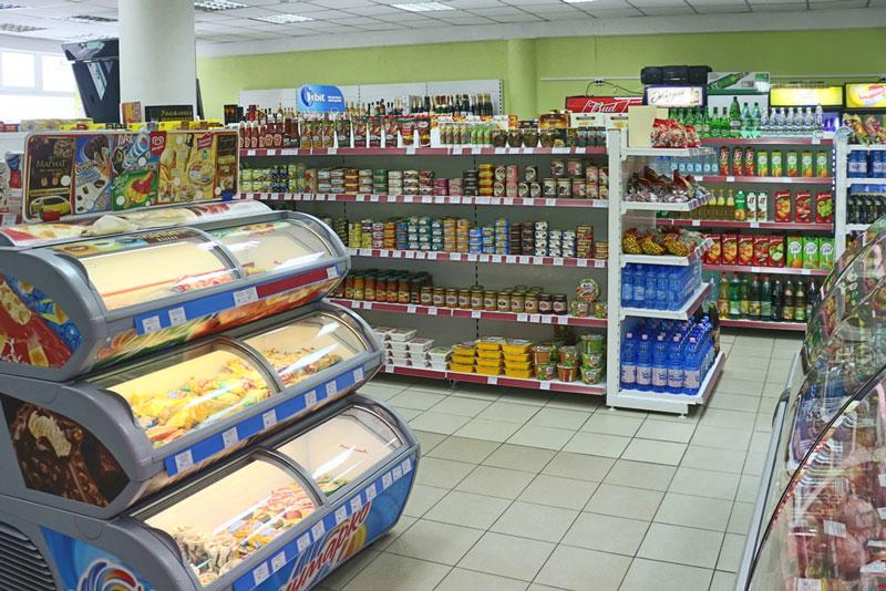 Самообслуживание хорошо подходит продуктовым магазинам