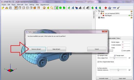 Работа с полигонами в 3D моделях