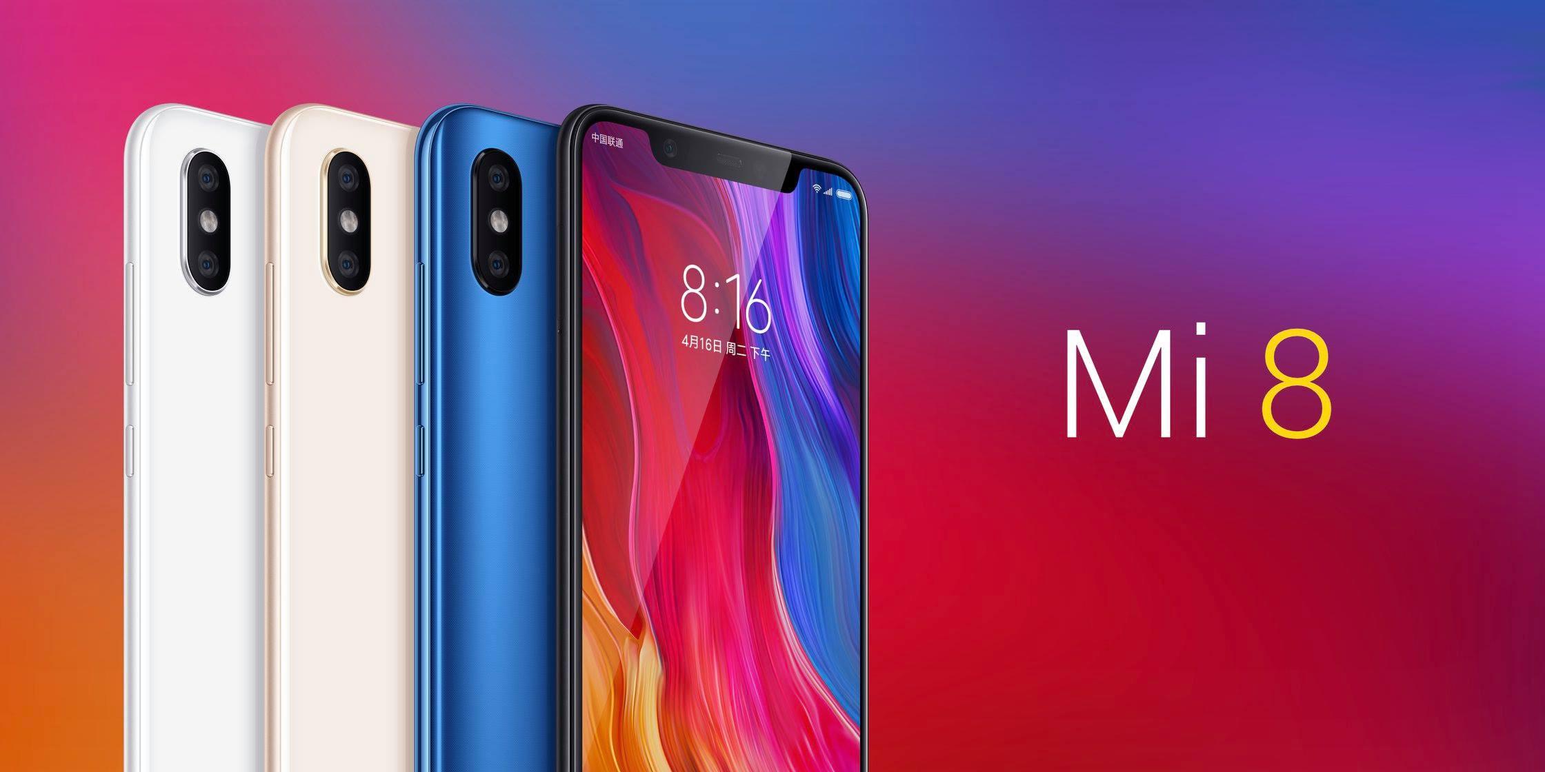 Смартфон Xiaomi Mi 8 6 / 128GB (черный)