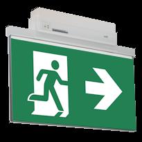 Эвакуационные указатели ESC 81 для задач аварийного освещения административных помещений