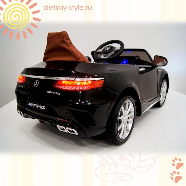 электромобиль river toys mercedes benz s63, лицензия, купить, цена, стоимость, детский электромобиль ривер тойз мерседес бенц s63, заказать, официальный дилер, бесплатная доставка, новинка 2016, заказ, отзывы, обзор, доставка по россии