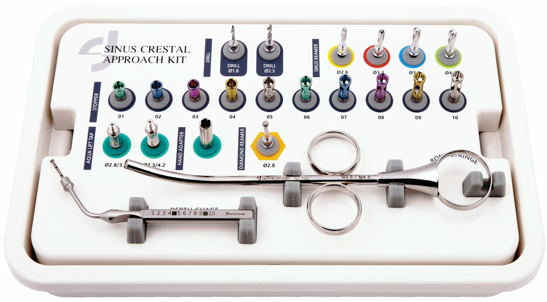 Набор для закрытого (крестального) синус-лифтинга Dental Studio