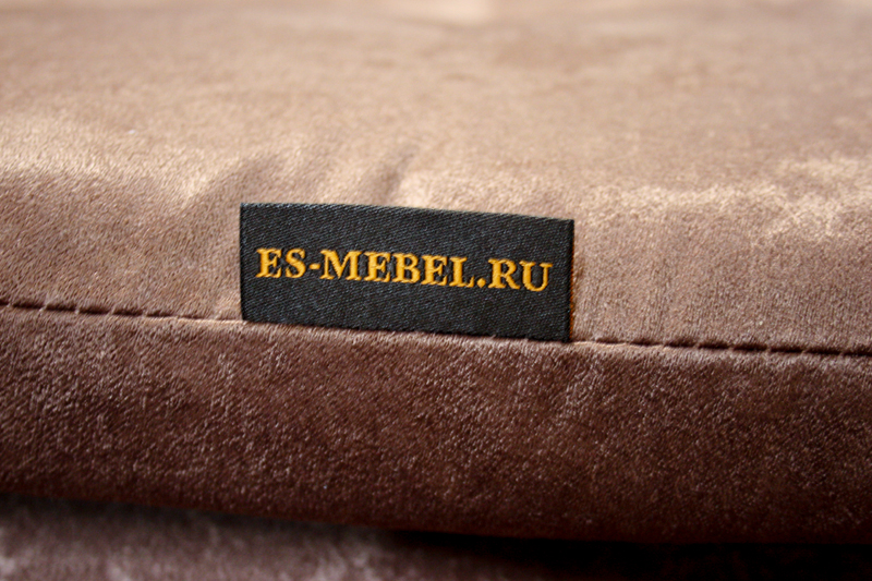 Фирменные этикетки для мягкой мебели