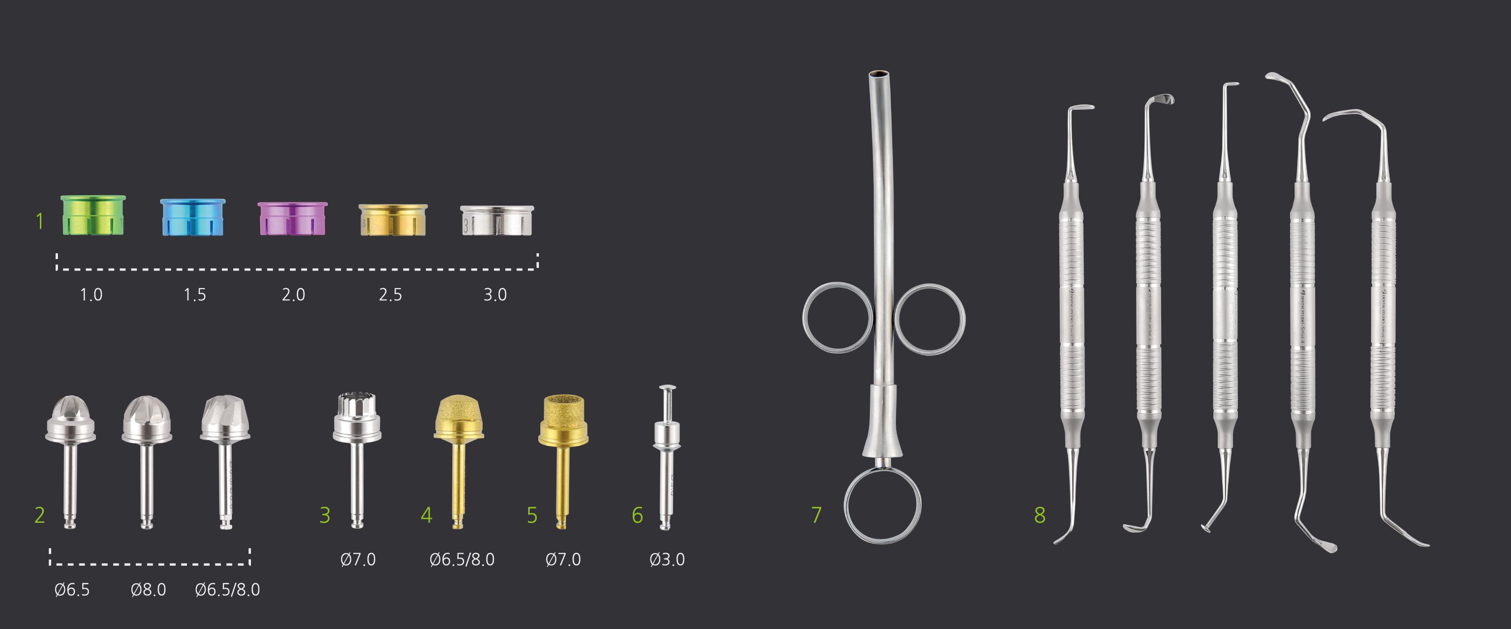 Компоненты Dental Studio Sinus Lateral Approach Kit
