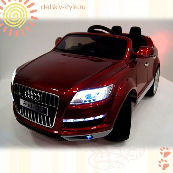 электромобиль river toys audi q7, лицензия, купить, цена, стоимость, детский электромобиль ауди q7, отзывы, заказать, бесплатная доставка, заказ, доставка по россии, обзор, новинка, официальный дилер, интернет магазин
