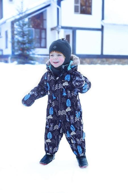 Комбинезон Premont Кермодские медвежата WP92059 Blue купить в интернет-магазине Premont-shop